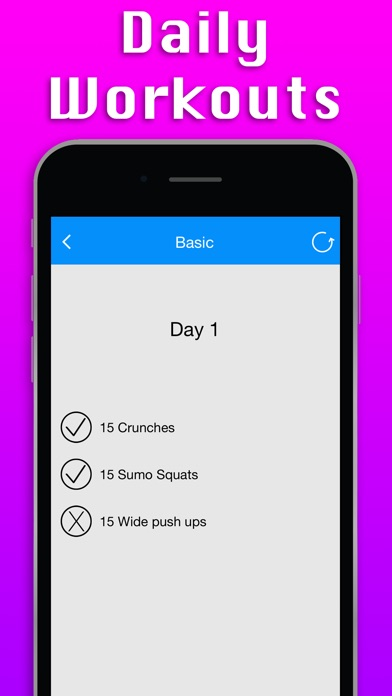 Pro 30 Day Fitness Challenge screenshot four