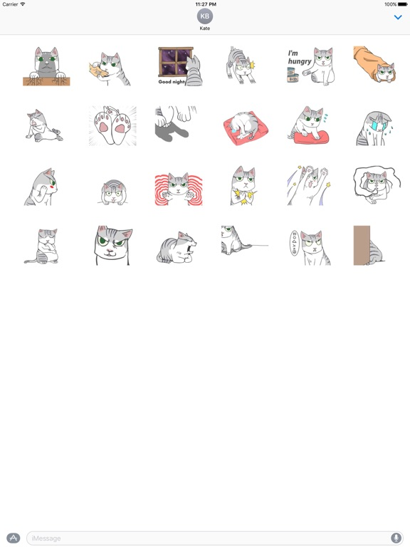 Animated Lonely Cat Stickers screenshot 3