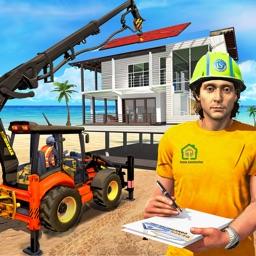 Beach House Builder Games