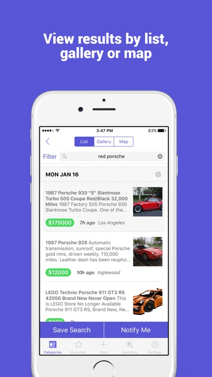 Buy and Sell: Classifieds, Free Stuff, Jobs & More