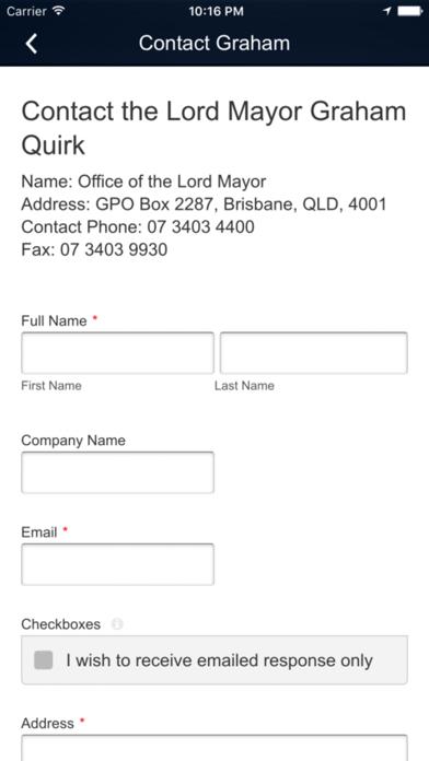 Lord Mayor Graham Quirk screenshot three