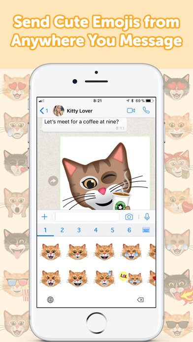 CatMoji - Cat Emoji Stickers screenshot 4