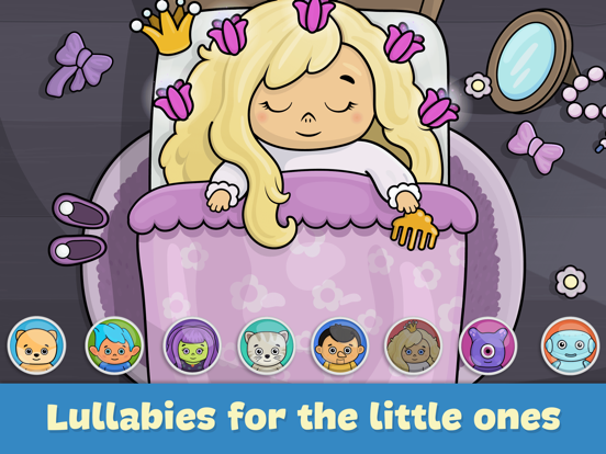 Baby piano and music games for kids and toddlers screenshot