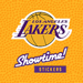160.Lakers Showtime Stickers