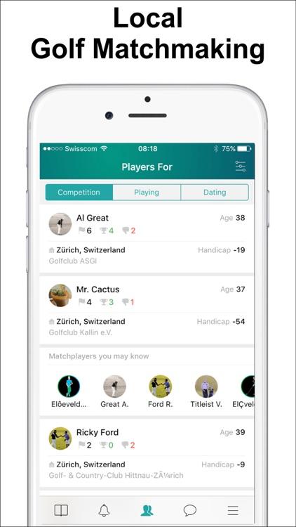 The Match Player Golf App screenshot-0