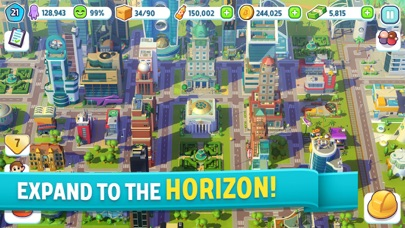 City Mania: Town Building Game Screenshot on iOS