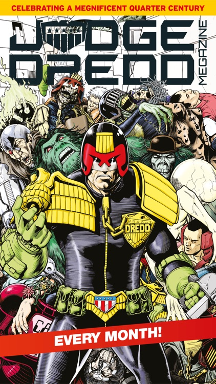2000 AD Featuring Judge Dredd