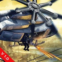 Apache Gunship Attack