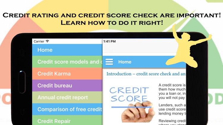 Credit Rating and Credit Check
