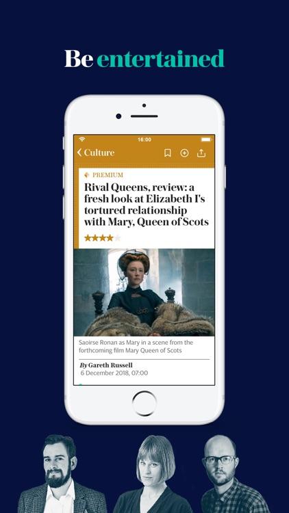 The Telegraph: UK News App screenshot-7
