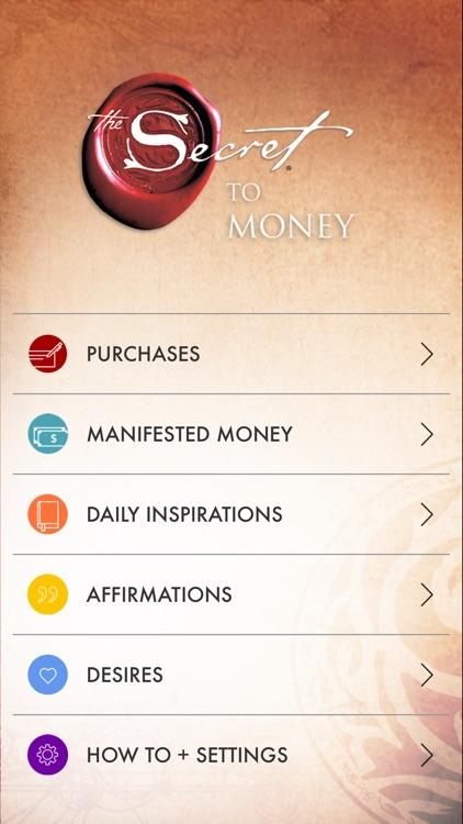 The Secret To Money screenshot-0