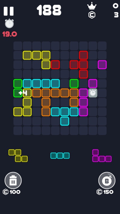 Neon Block Puzzle : Fill Board screenshot-5