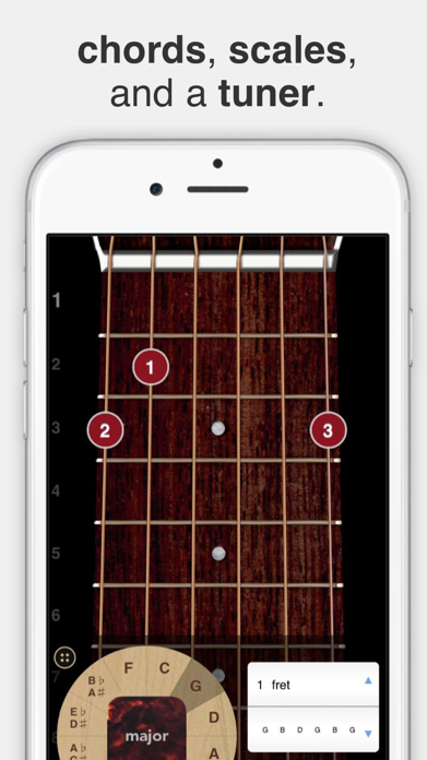 ChordBank  -  Guitar Chord App Screenshot