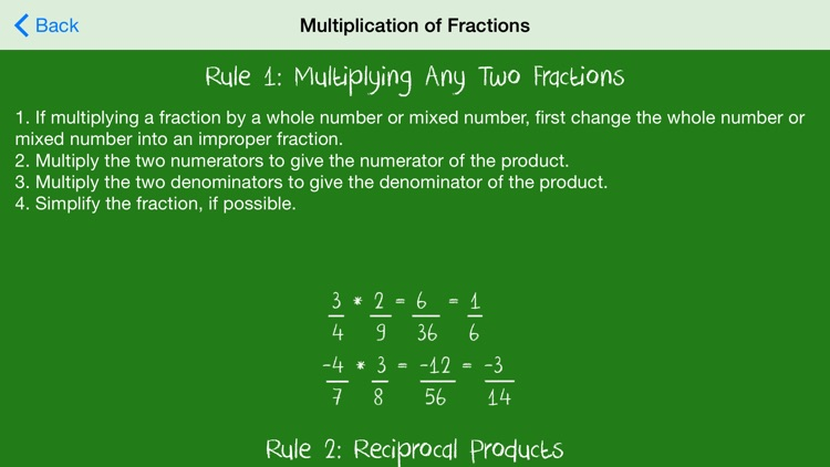 Basic Math Rules screenshot-4