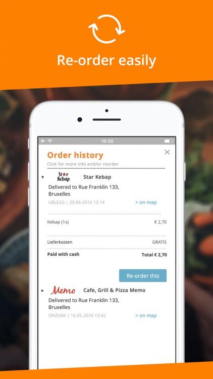 Takeaway.com - Belgium screenshot-4