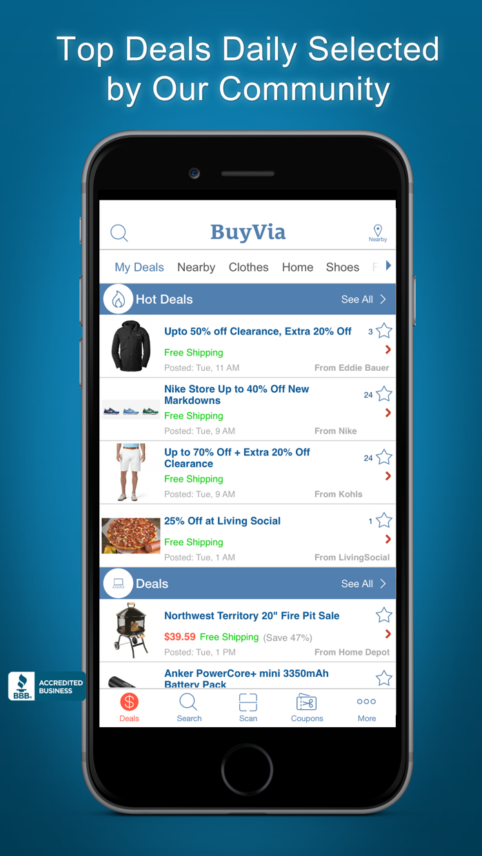 BuyVia – Best Price Compare Screenshot