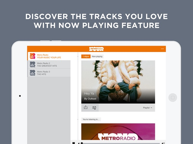 Metro radio dating app