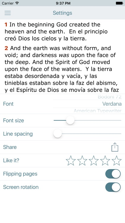 Spanish English Bible - Biblia screenshot-4