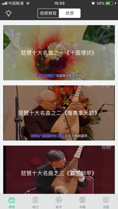 琵琶基础入门 - 视频讲解经典自学教程 screenshot three