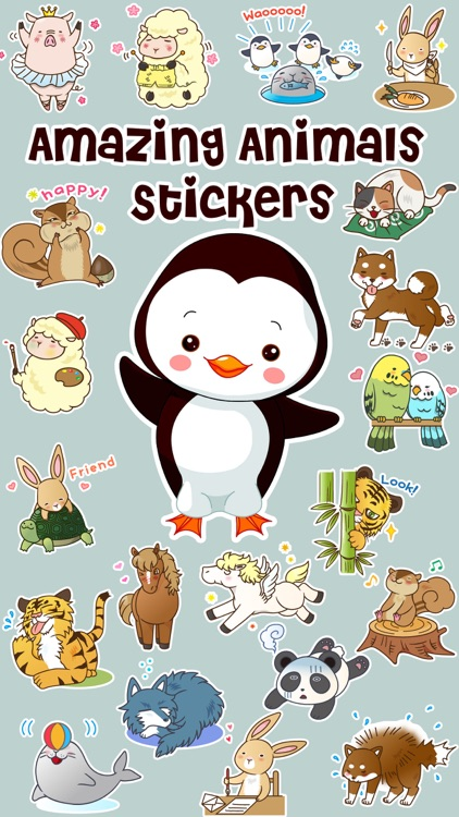 Amazing Animals Stickers