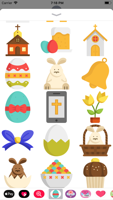 Easter Holiday Sticker Pack screenshot two