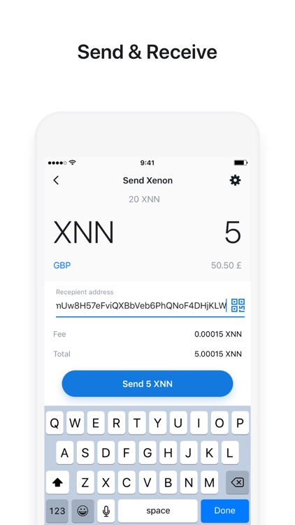 Conicoin - Ethereum Wallet