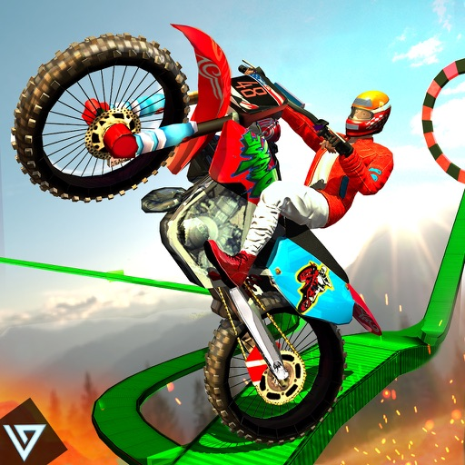 Bike Stunts Impossible Tracks Rider application logo