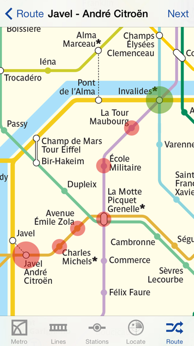 Metro Paris Subway review screenshots