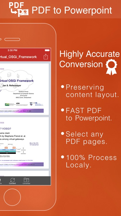 PDF to PowerPoint by Flyingbee
