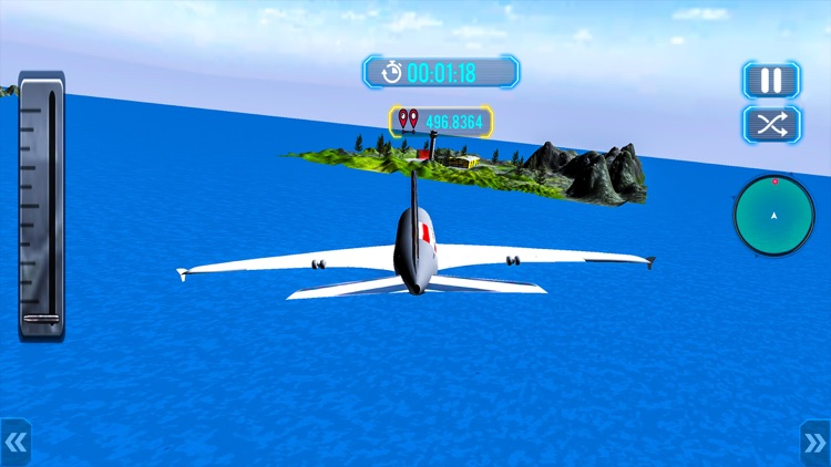 Tourist Airplane Flight Sim 3D screenshot-4