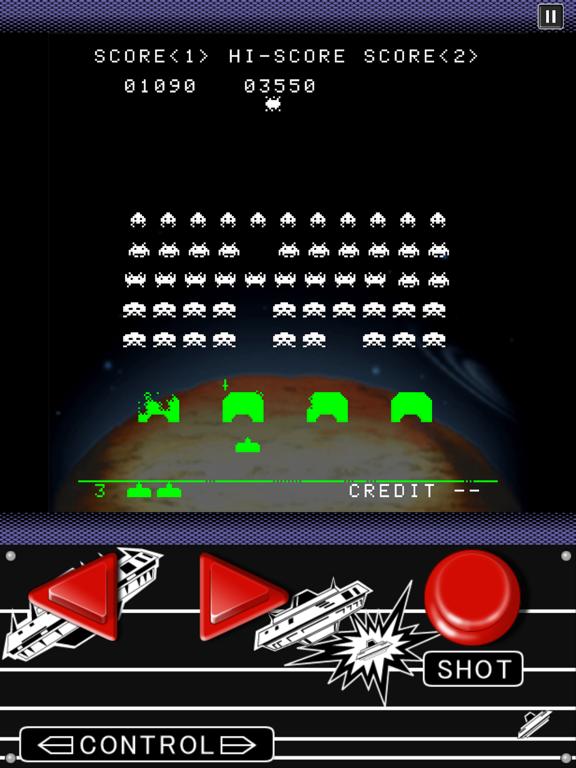 SPACE INVADERS для iPad