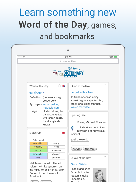 Dictionary and Thesaurus Pro | App Price Drops