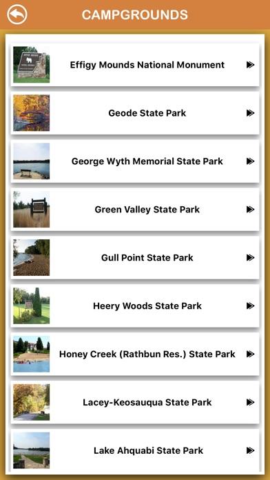 Screenshot for Iowa National Parks in Peru App Store
