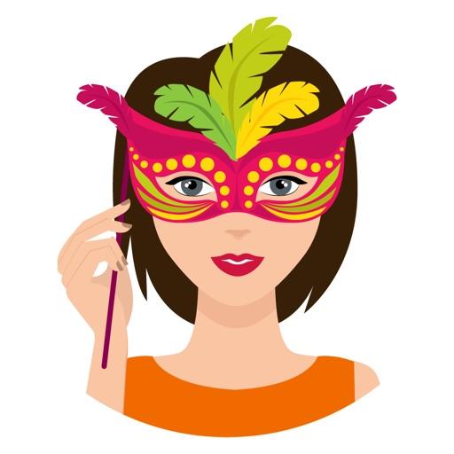 Party Mask Emoji by Neeraj