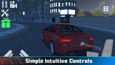 City Car Drag Driving Screenshot on iOS