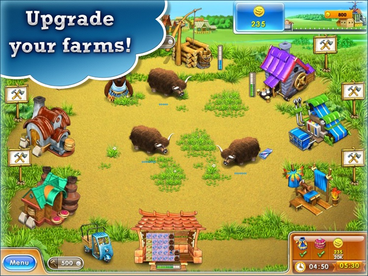 Farm Frenzy 3 HD. Farming game screenshot-4
