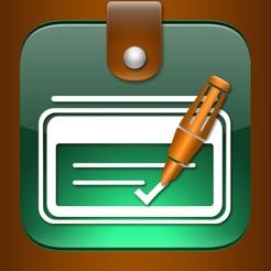 checkbook ledger on the app store