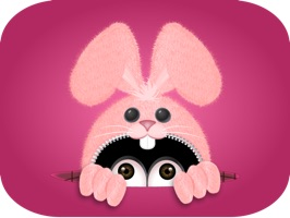 Introducing the Pink Bun•e Emoji stickerpack, he is fun, silly and mischievous and even crosses the line…sometimes