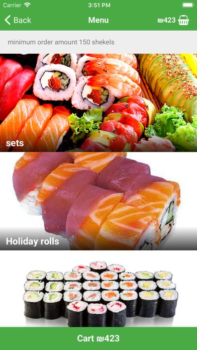 Wasabi sushi №1 screenshot two