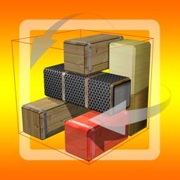 Unblock Red Brick. 3D Space