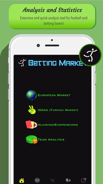 Betting Market Pro - Analysis screenshot-4