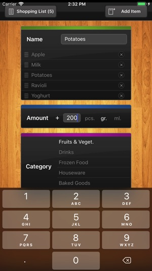 ShopList (Grocery List) on the App Store