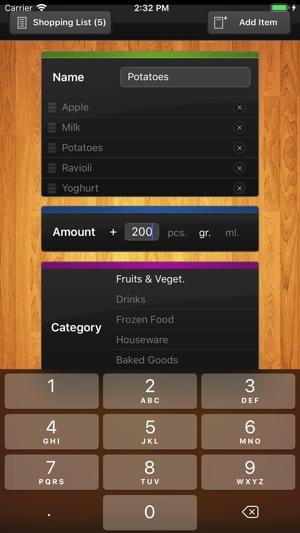 shoplist grocery list on the app store