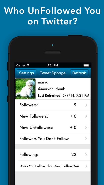 Tweet Sponge Pro- Who UnFollow