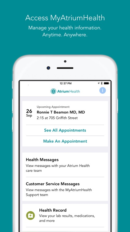 MyAtriumHealth screenshot-3