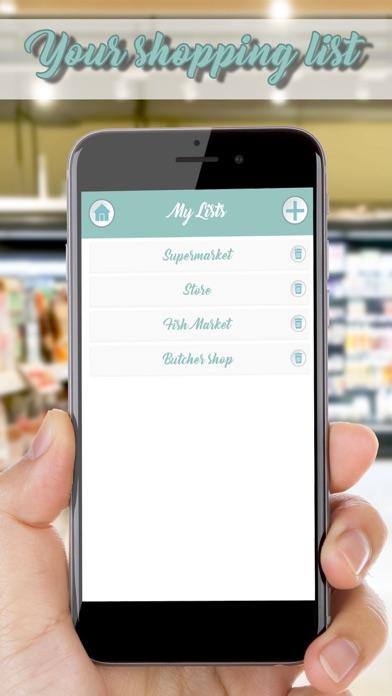 Grocery List – Smart Shopping screenshot one