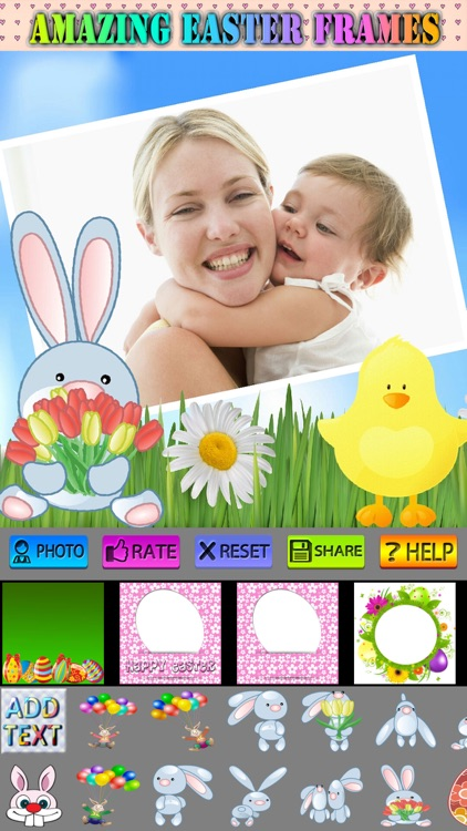 Easter Frames and Stickers screenshot-3