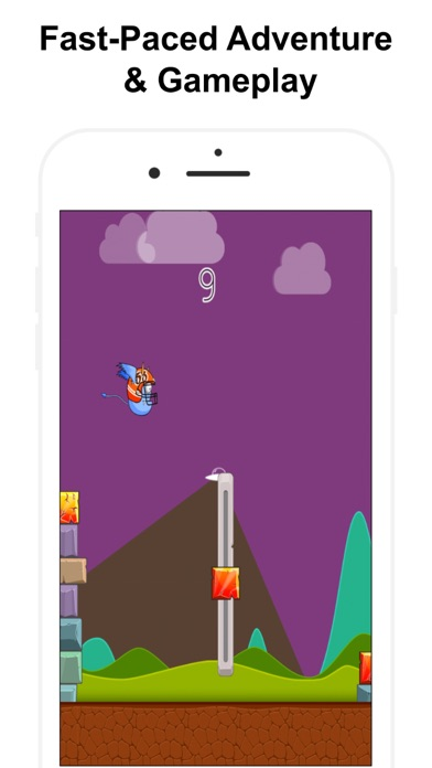 Bouncing Monster. Crazy Legend screenshot two
