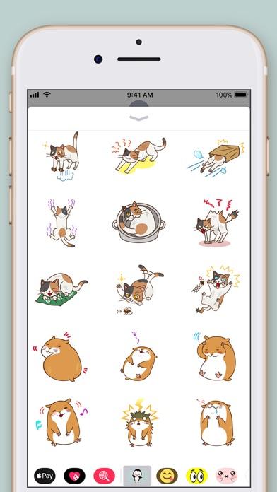 Amazing Animals Stickers screenshot three