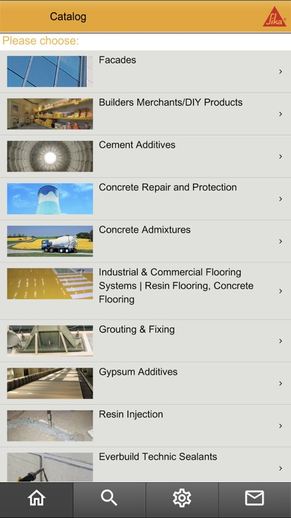 Sika Product Finder by Sika Services AG